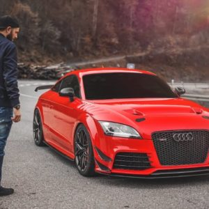 Insanity!  AUDI TT RS with 700 HP!